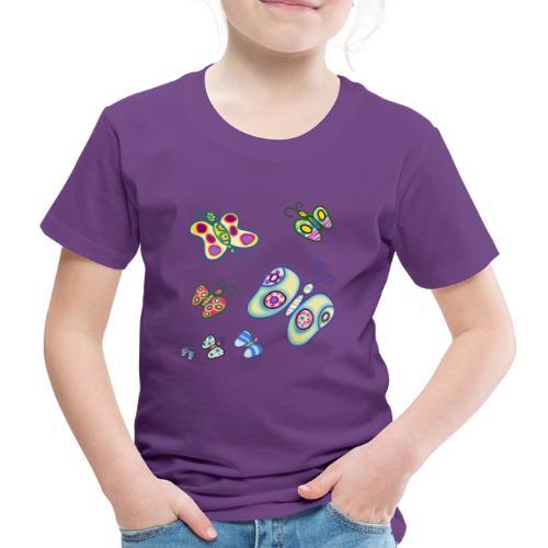 Allegria di farfalle - Maglietta Premium per bambini