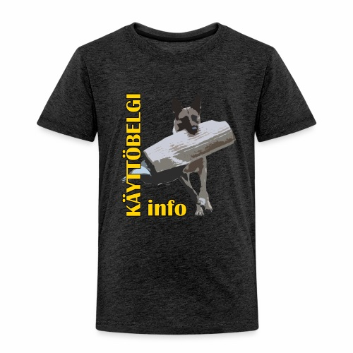 Käyttöbelgi.infon logotuotteet - Lasten premium t-paita