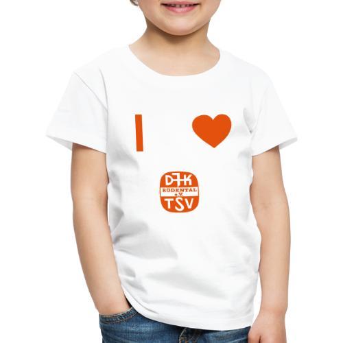 VORNE DJK HERZ - Kinder Premium T-Shirt
