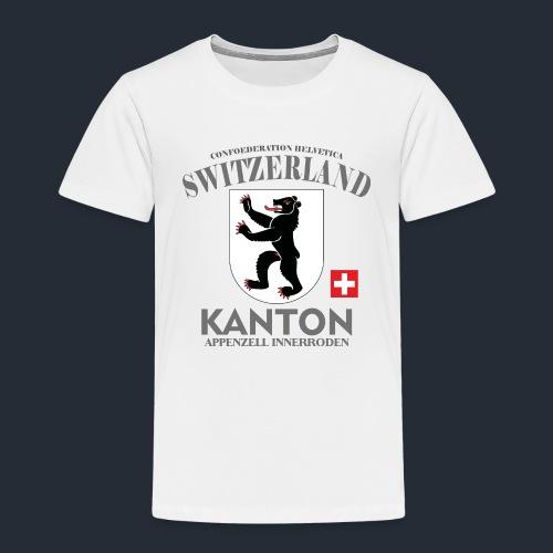 Kanton T-Shirt appenzelli, Schweiz, switzerlang - Kinder Premium T-Shirt