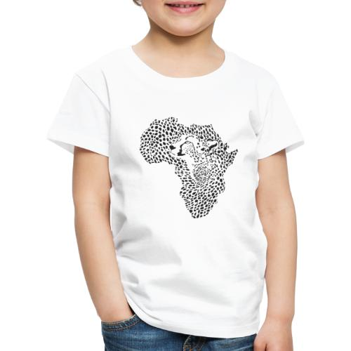 Africa in a cheetah camouflage - Kinder Premium T-Shirt