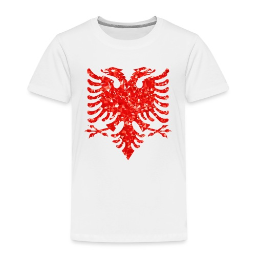 Ruby Double Headed Eagle png - Kinder Premium T-Shirt