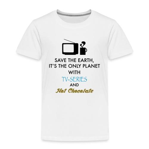TV-series & Hot Chocolate - Maglietta Premium per bambini