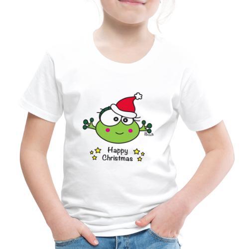 Grenouille F, Frog, Fêtes Nôel, Happy Christmas - T-shirt Premium Enfant