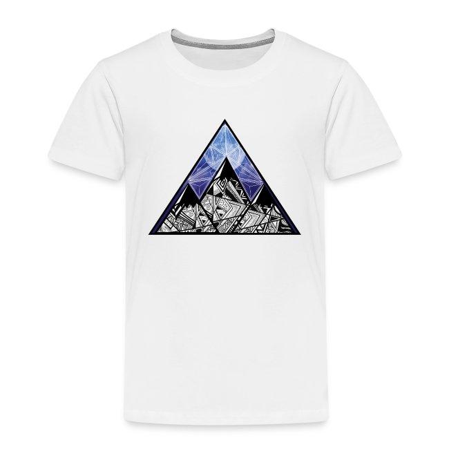 Grime Apparel Mountain Range Graphic Shirt.