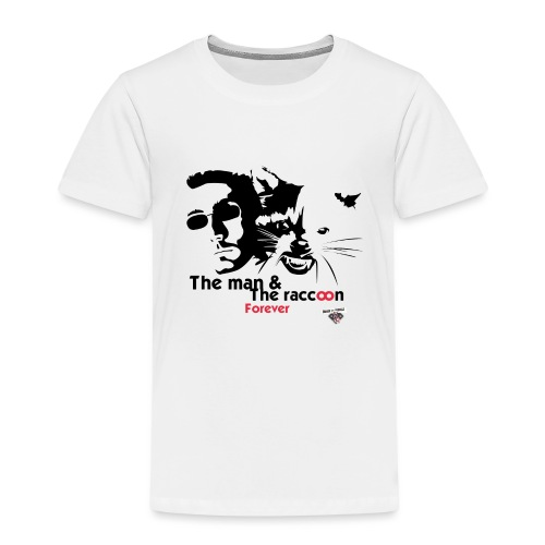 T-shirt_ManVsRaccoon01 - T-shirt Premium Enfant