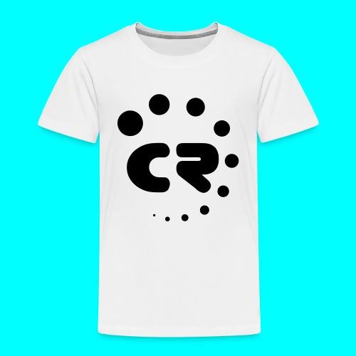 CR black white - Kids' Premium T-Shirt