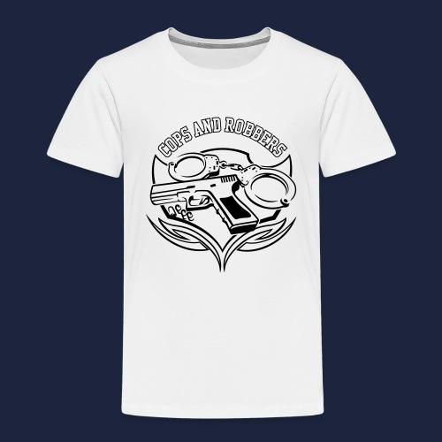 raglan CxR tee with large back logo - Kids' Premium T-Shirt
