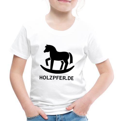 Holzpferde - Kinder Premium T-Shirt