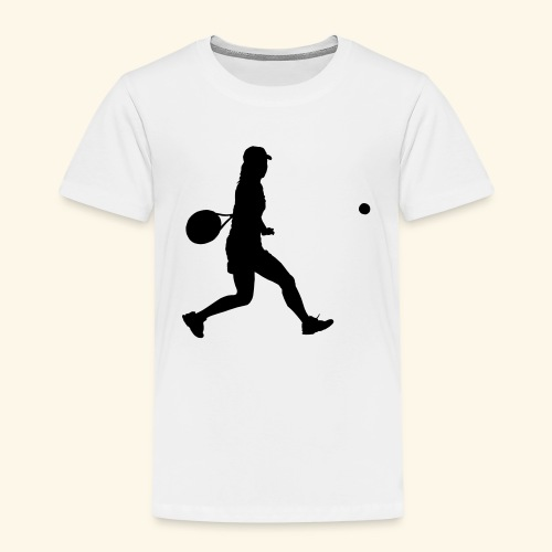 tennis woman 2 - T-shirt Premium Enfant