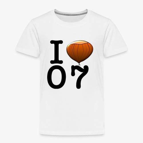 I Love 07 - T-shirt Premium Enfant