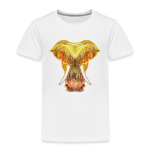 Eléphant Feu - T-shirt Premium Enfant