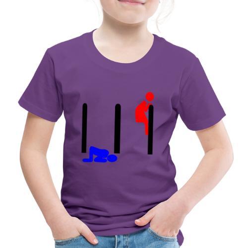 Mann und Frau - Kinder Premium T-Shirt