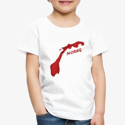 Noreg - Premium T-skjorte for barn