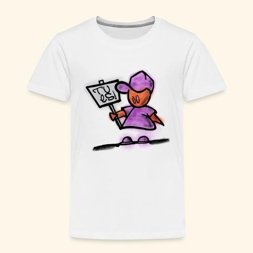 Tu es! - Kinder Premium T-Shirt