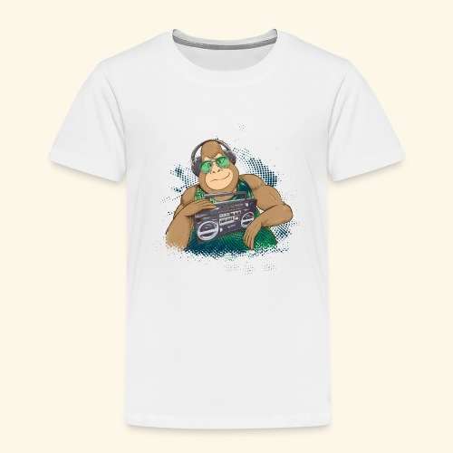 Gorilla Jungle Hiphop - Camiseta premium niño
