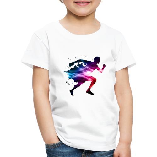 springa - Premium-T-shirt barn