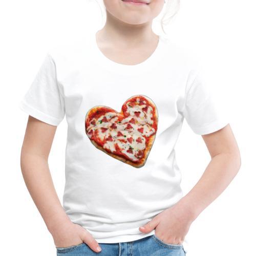 Pizza a cuore - Maglietta Premium per bambini