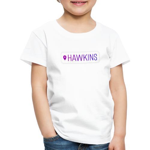 00208 Location Hawkins - Camiseta premium niño