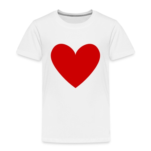 hart_normal_d - Kinderen Premium T-shirt