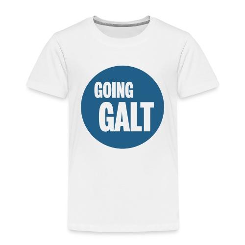 GoingGaltButton png - Kinder Premium T-Shirt
