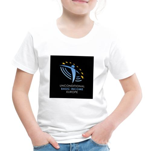 02 ubie on black centered square jpg - Kinderen Premium T-shirt