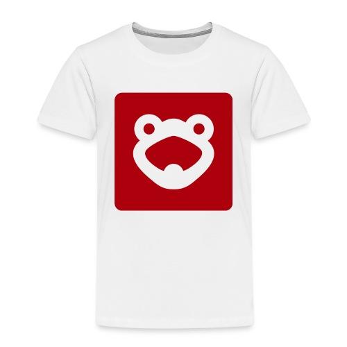 FrogTube 2 Logo - Kinder Premium T-Shirt