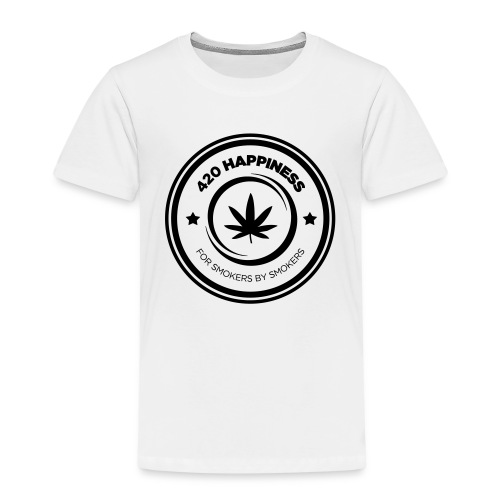 420_Happiness_logo - Børne premium T-shirt