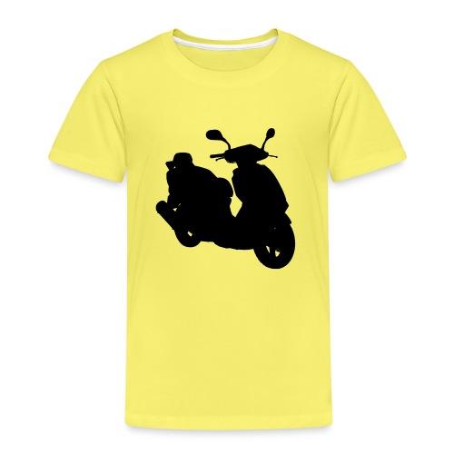 Daelim Otello Silhouette von vorne rechts - Kinder Premium T-Shirt