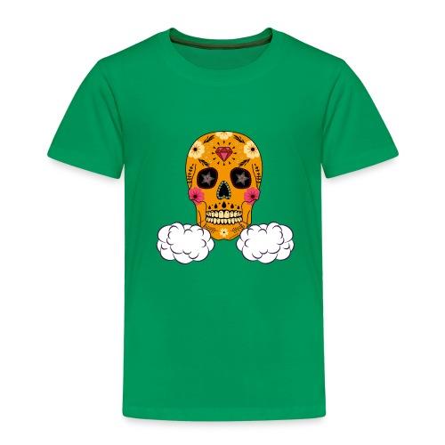skul orange png - T-shirt Premium Enfant