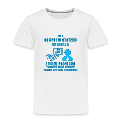 Computer System Engineer - Maglietta Premium per bambini