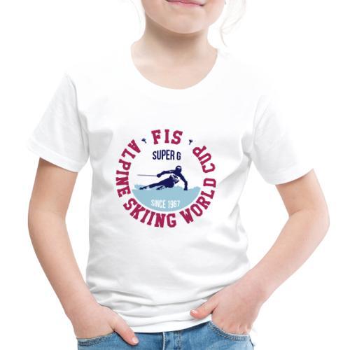 FIS ALPINE SKIING WC - SUPER G - Maglietta Premium per bambini