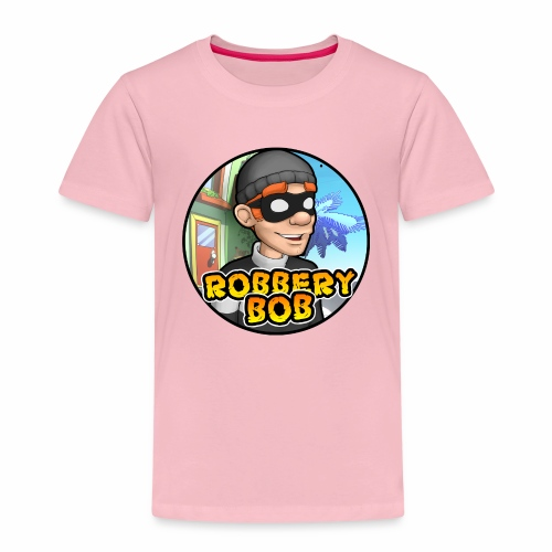Robbery Bob Button - Kids' Premium T-Shirt