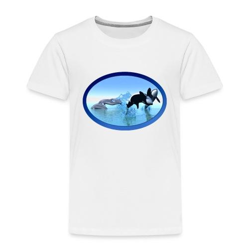 Dolfijnen en Orka's - Kinderen Premium T-shirt