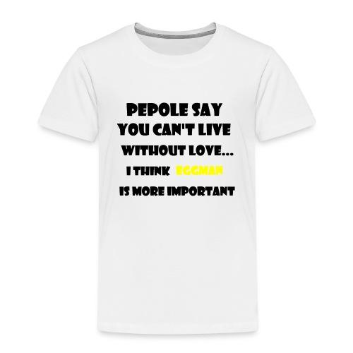Eggman is life - Premium-T-shirt barn