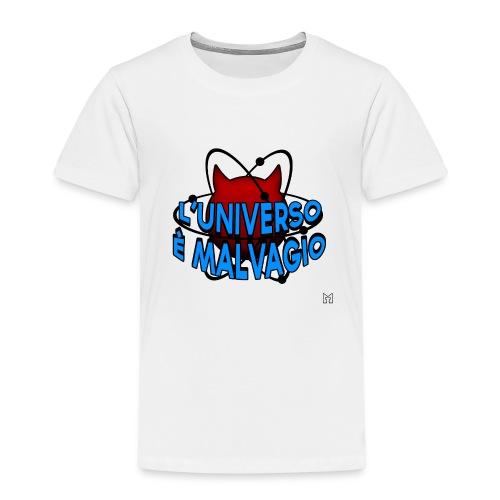L'universo è malvagio - Maglietta Premium per bambini