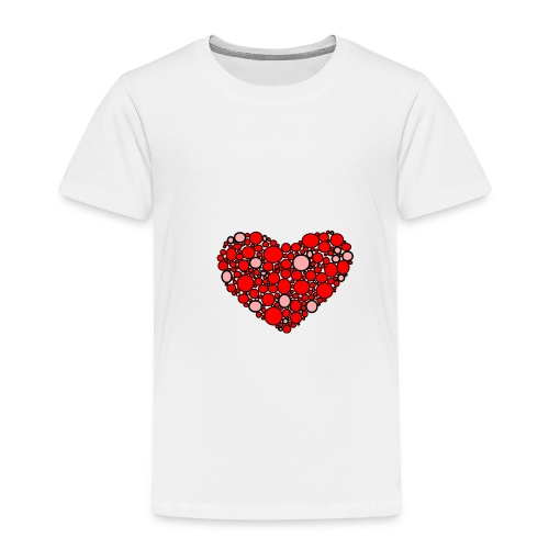 Hjertebarn - Børne premium T-shirt