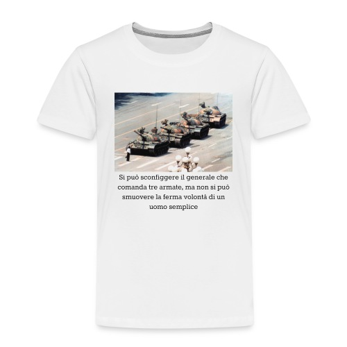 Volontà - Maglietta Premium per bambini
