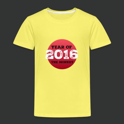 2016 year of the monkey - Kids' Premium T-Shirt