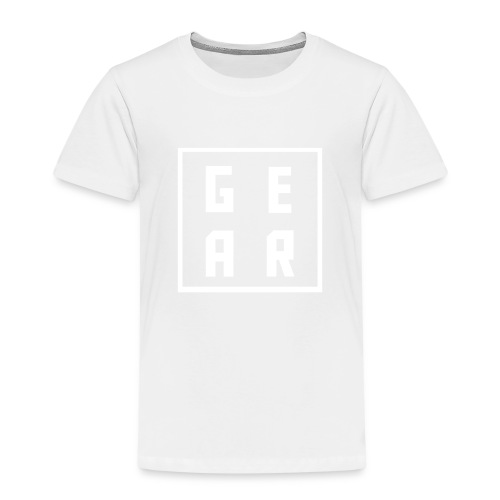 GearWear Sweatshirt   Man Black - Kinderen Premium T-shirt