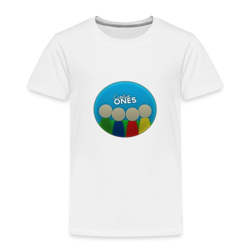 Creative Ones Logo - Kids' Premium T-Shirt