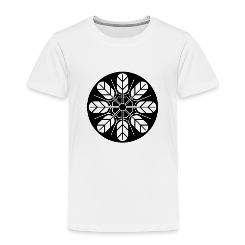 Inoue clan kamon in black - Kids' Premium T-Shirt