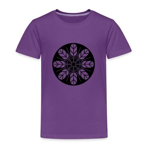 Inoue clan kamon in black - Kids' Premium T-Shirt