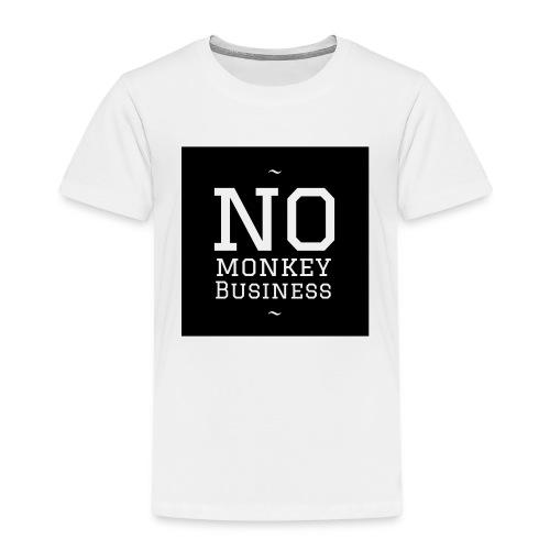 NoMonkeyBusiness - Kinder Premium T-Shirt