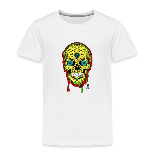 Dipped Sugar Skull - Kids' Premium T-Shirt