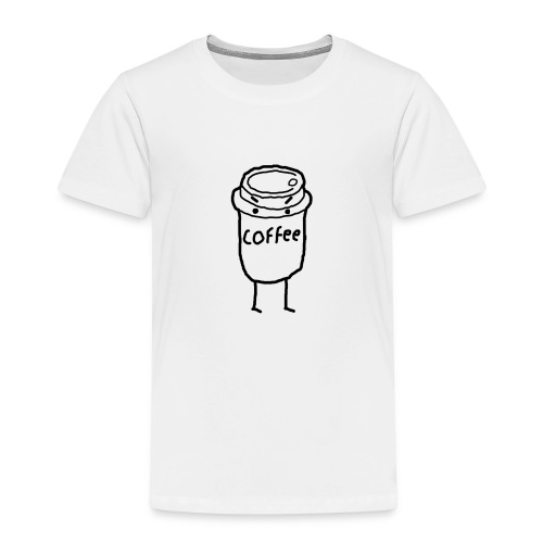 Cold Coffee - Kids' Premium T-Shirt