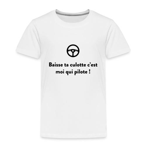 baisse_ta_culotte_cest_ - T-shirt Premium Enfant