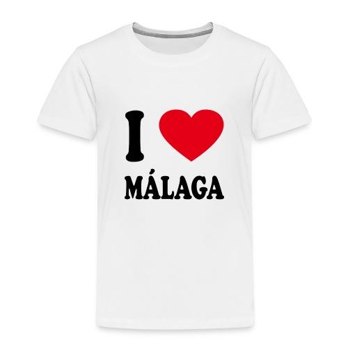 I love Malaga - Kinder Premium T-Shirt
