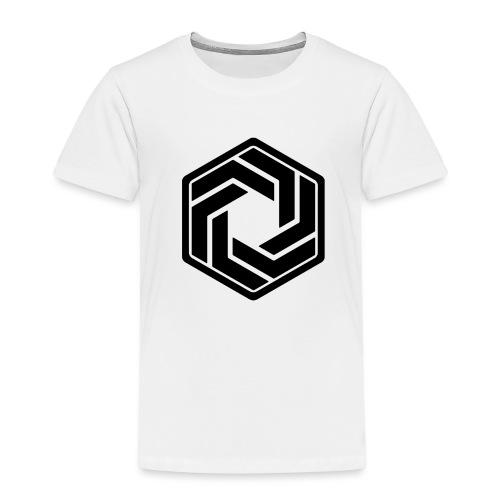 BW Logo White Shirt - Kids' Premium T-Shirt