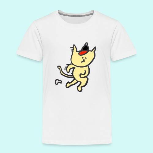 Cat's cap! - Kids' Premium T-Shirt